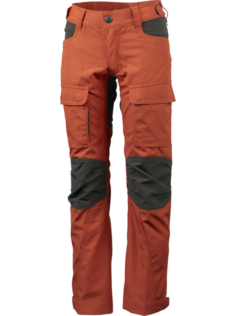 Lundhags Jr Authentic II Pants Bronze/Tea Green